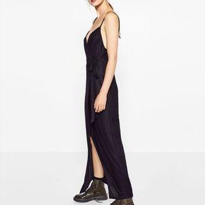 🆕 Zara Crossover Bowed Dress